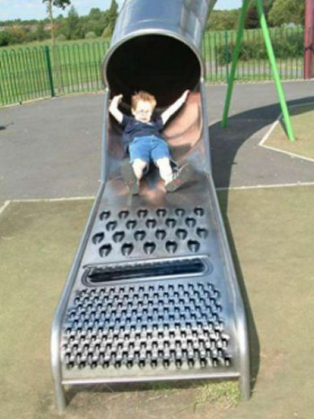 Cheese Grater Slide