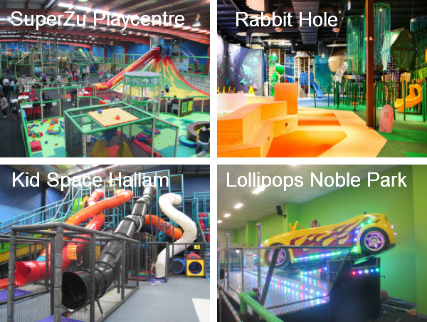 Play Centres in Melbourne and Geelong
