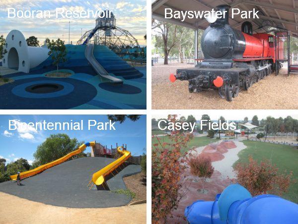 Top Playgrounds in Melbourne