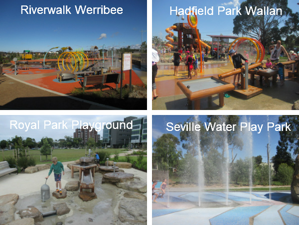 Water Play Spaces in Melbourne