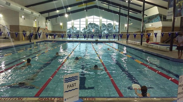 Doug ellis pool monash university clayton swimming pools water for Melbourne university swimming pool