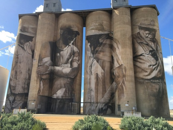 Brim Art Silos, Yarriambiack Shire Silo Art Trail