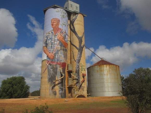 Patchewollock Art Silos, Yarriambiack Shire Silo Art Trail