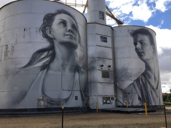 Rupanyap Art Silos, Yarriambiack Shire Silo Art Trail