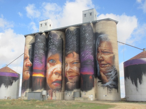 Sheep Hills Art Silos, Yarriambiack Shire Silo Art Trail