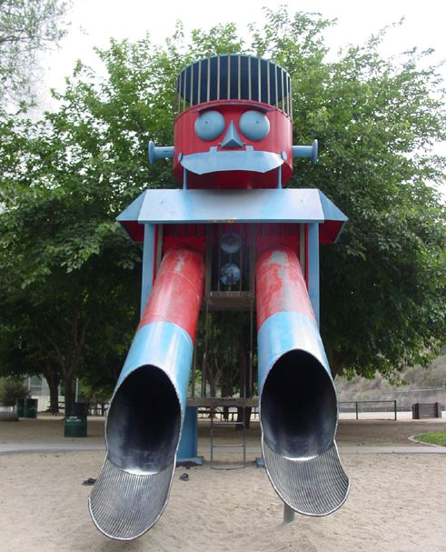 Giant Robot Playground, Benbrook, Texas, USA