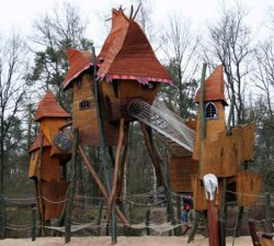Fantasy Playground in Hoenderloo, The Netherlands