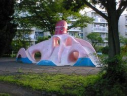 Octopus Playgrounds in Japan