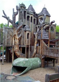 Nashville Zoo Playground, USA