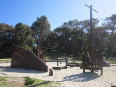 Coogoorah Park Pirate Ship