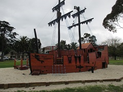 Riverside Park Pirate Ship