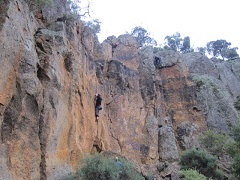 Werribee Gorge Falcons Lookout